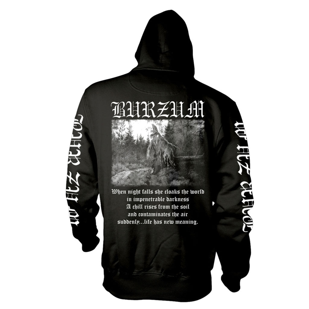 Burzum - Filosofem (White on Black) (Hoodie)