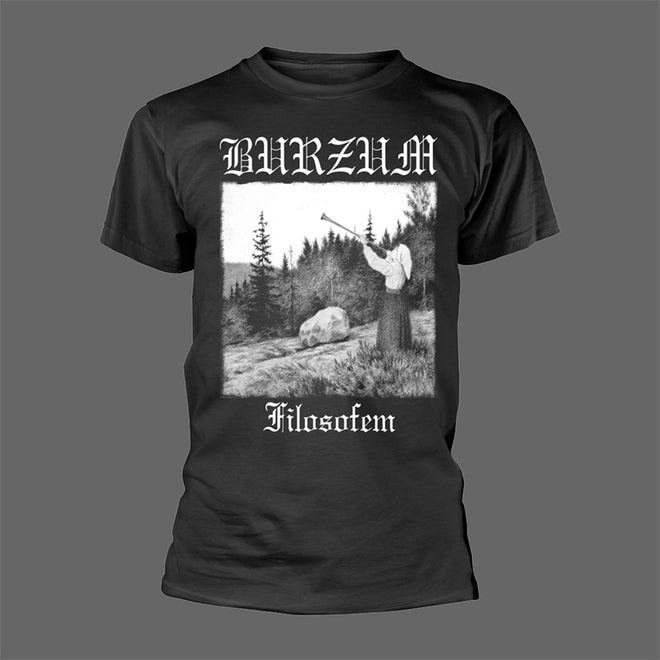 Burzum - Filosofem (White on Black) (T-Shirt)