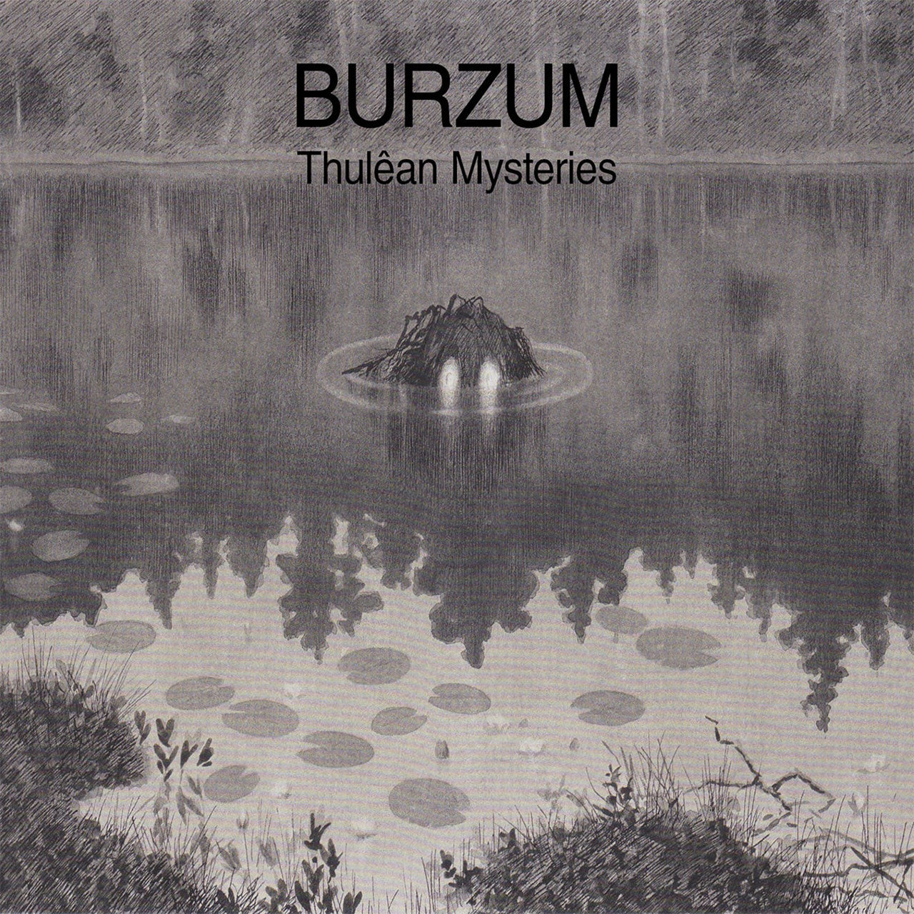 Burzum - Thulean Mysteries (Clear Edition) (2LP - PRE-ORDER: 13/3/20)