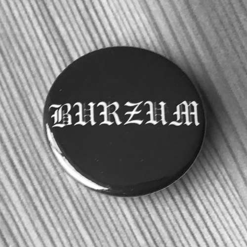 Burzum - White Logo (Badge)
