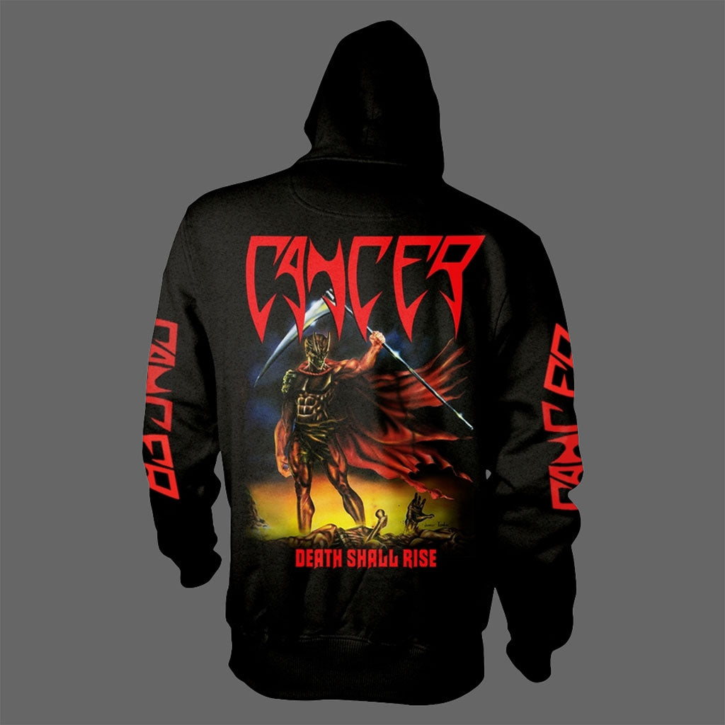 Cancer - Death Shall Rise (Full Zip Hoodie)