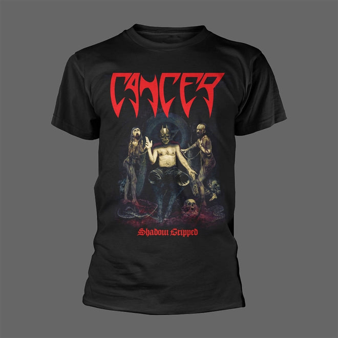 Cancer - Shadow Gripped (T-Shirt)