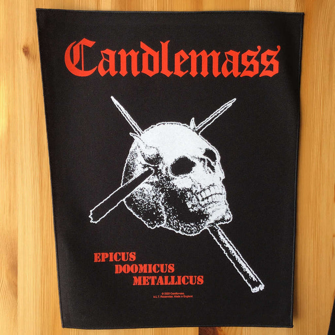 Candlemass - Epicus Doomicus Metallicus (Backpatch)