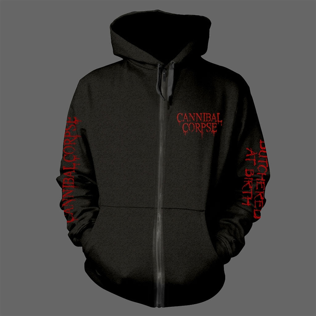 Cannibal Corpse - Butchered at Birth (Original) (Full Zip Hoodie)