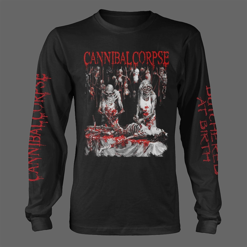 Cannibal Corpse - Butchered at Birth (Original) (Long Sleeve T-Shirt)