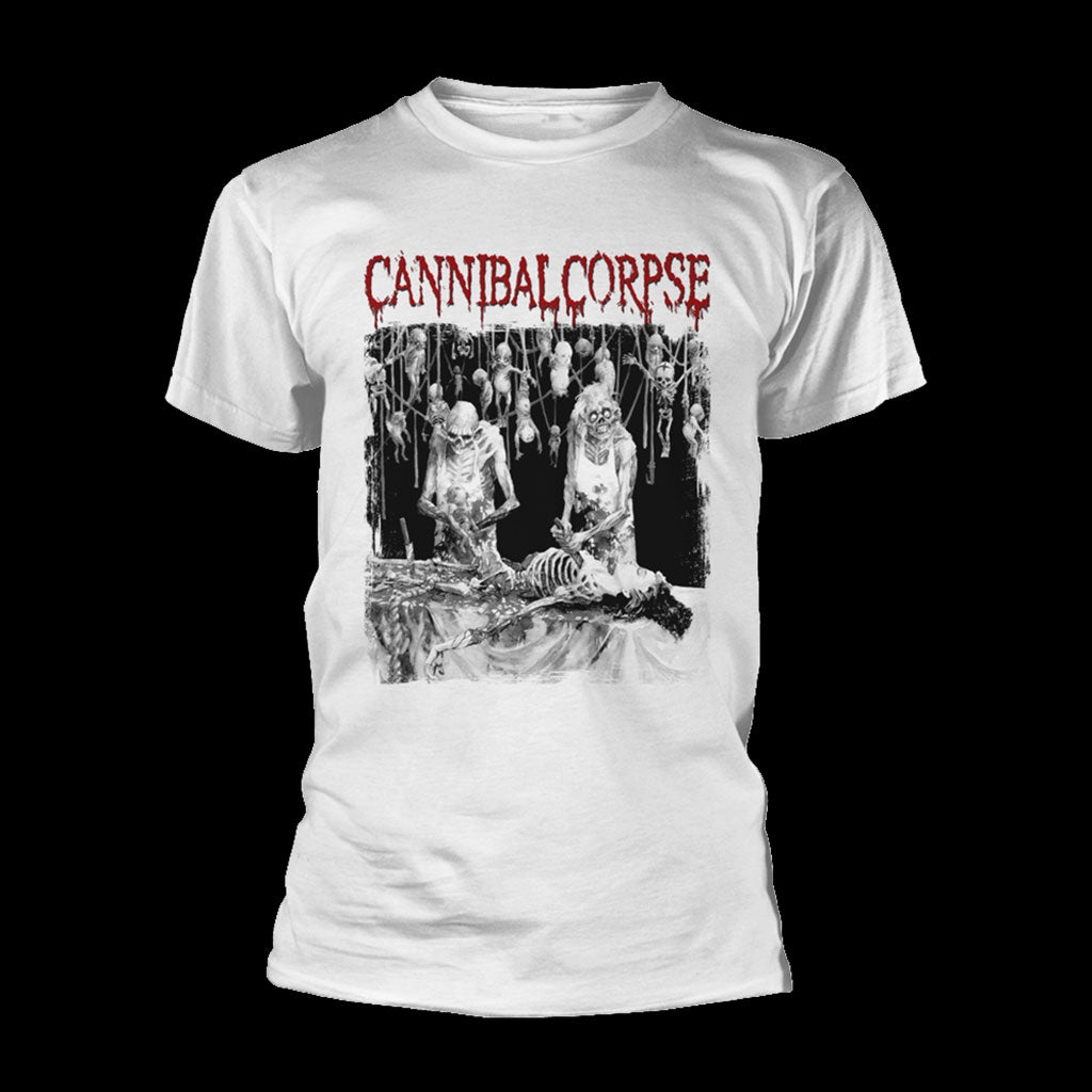 Cannibal Corpse - Butchered at Birth (White) (T-Shirt)