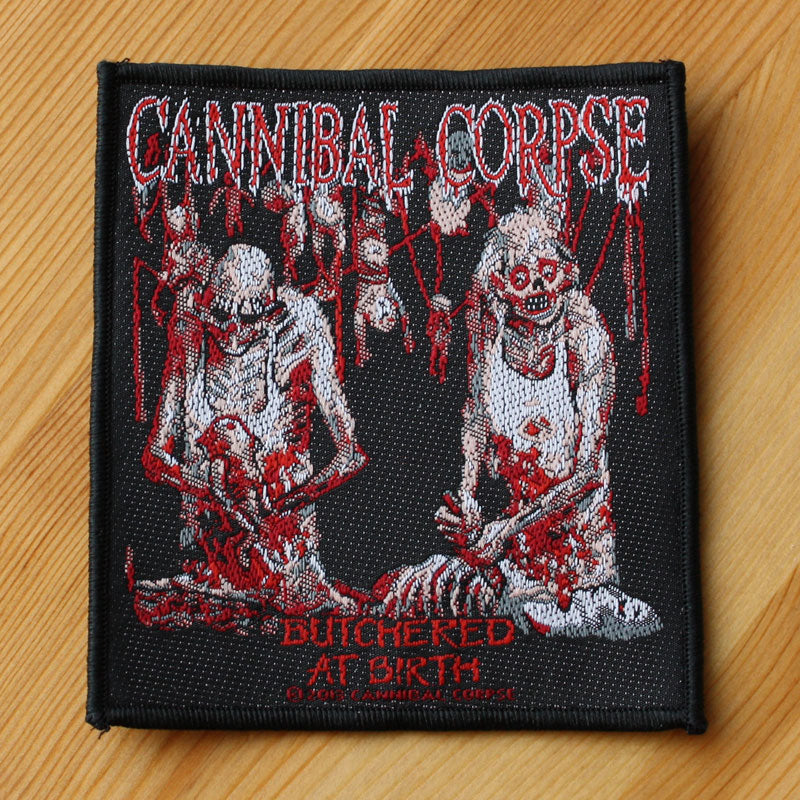 Cannibal Corpse - Butchered at Birth (Woven Patch)