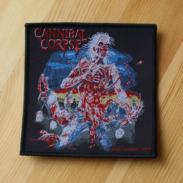 Cannibal Corpse - Eaten Back to Life (Woven Patch)
