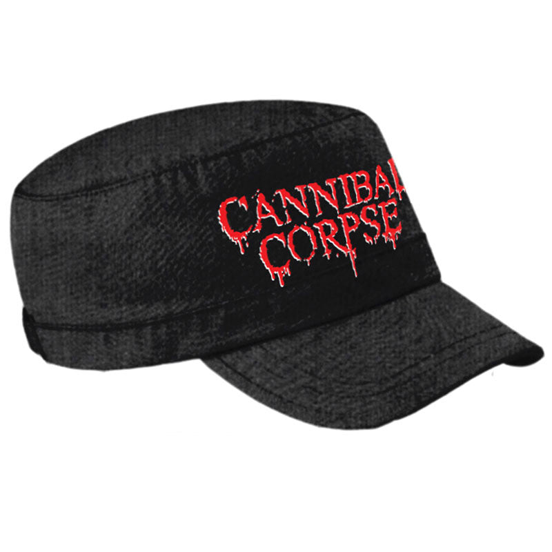 Cannibal Corpse - Logo (Army Cap)