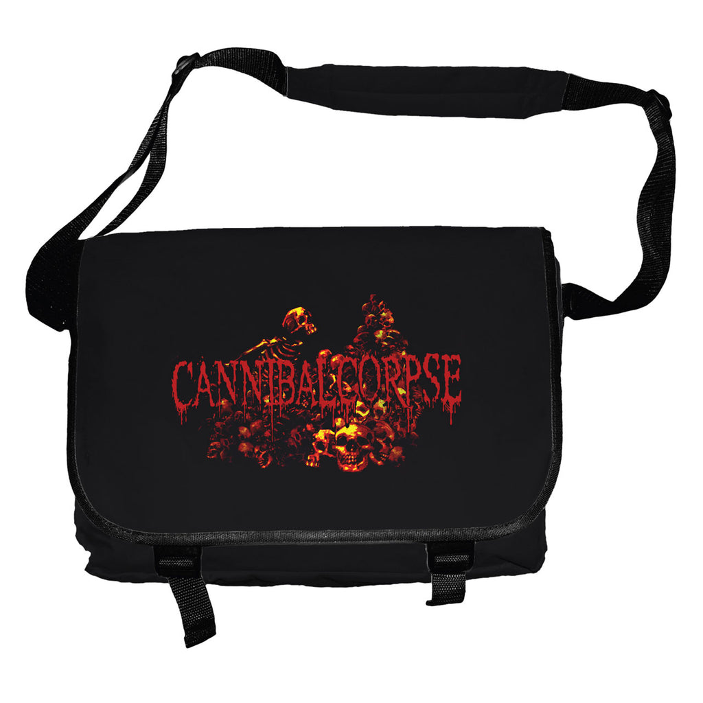 Cannibal Corpse - Pile of Skulls (Messenger Bag)