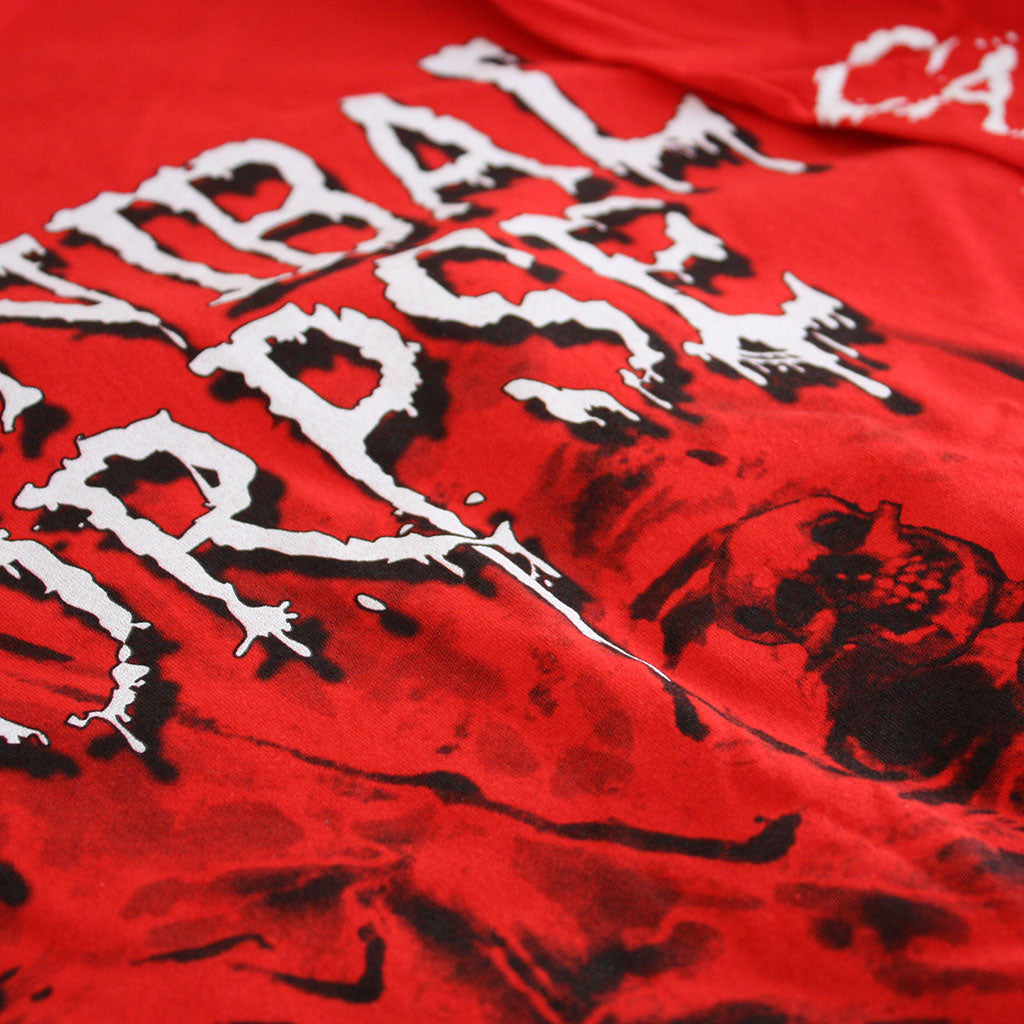 Cannibal Corpse - Pile of Skulls (Red) (Long Sleeve T-Shirt)