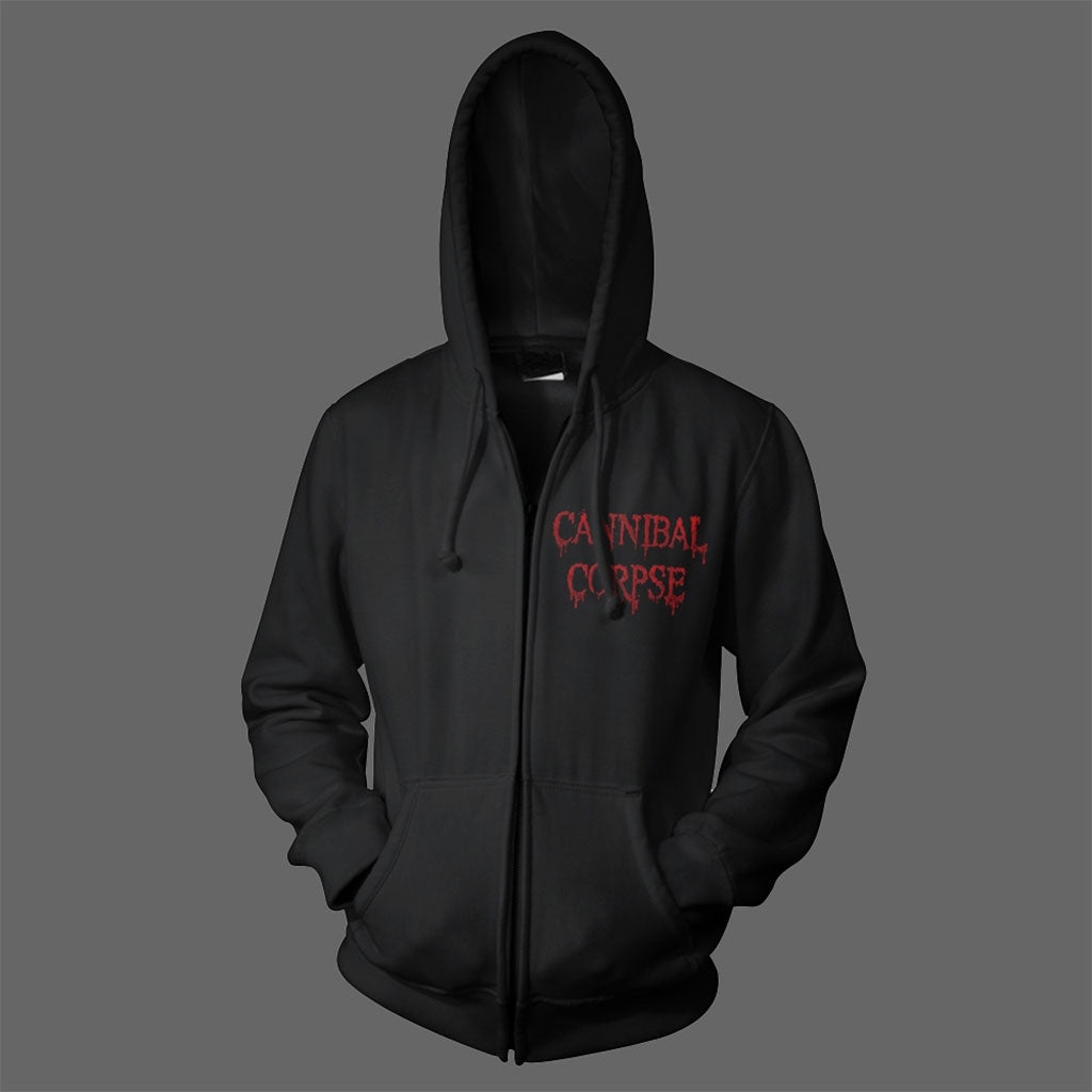 Cannibal Corpse - Red Before Black (Full Zip Hoodie)
