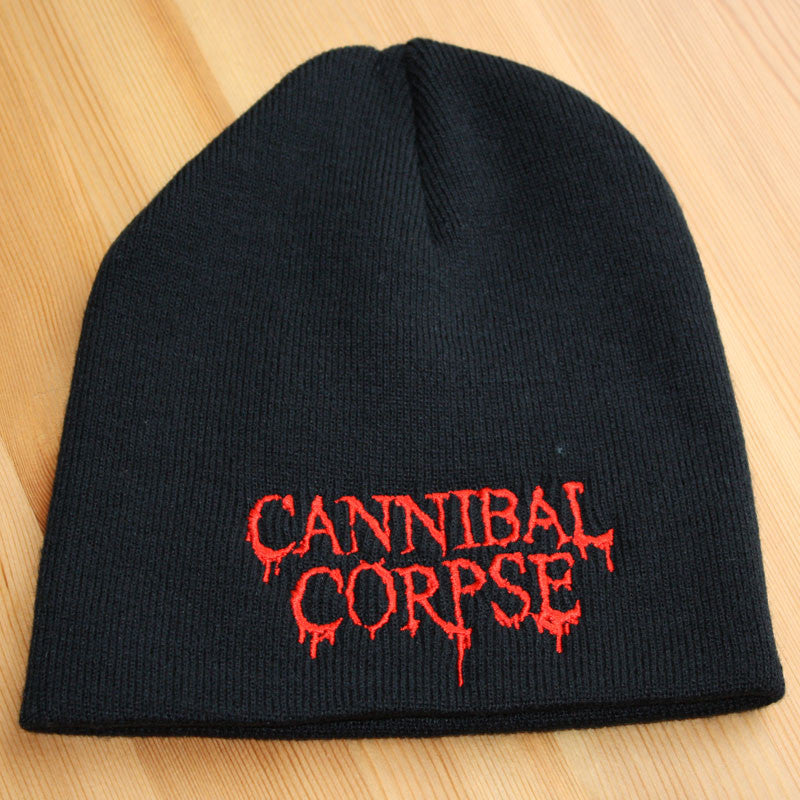 Cannibal Corpse - Red Logo (Beanie) – Todestrieb Records UK Black ... 7655bf7b2cb