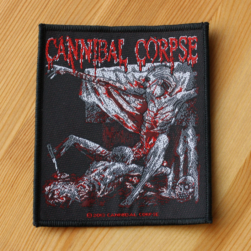 Cannibal Corpse - Tomb of the Mutilated (Woven Patch)