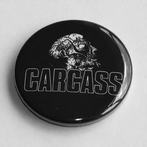 Carcass - Logo / Necro Head (Badge)