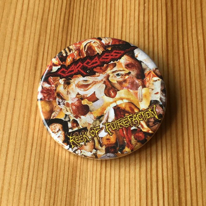 Carcass - Reek of Putrefaction (Badge)