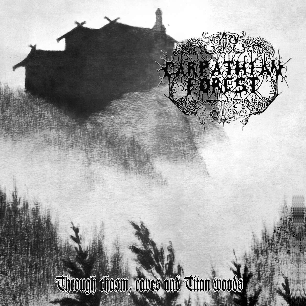 Carpathian Forest - Through Chasm, Caves and Titan Woods (2013 Reissue) (LP)