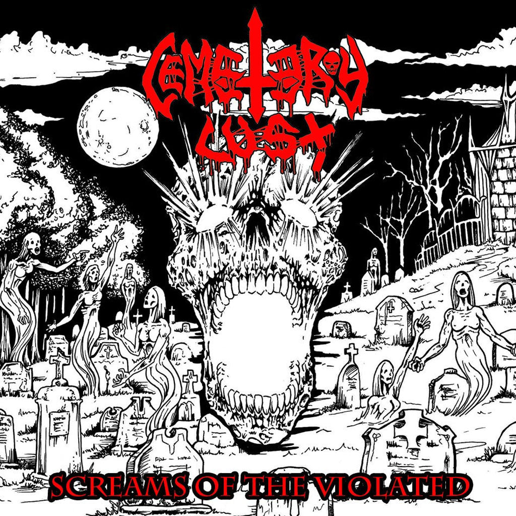 Cemetery Lust - Screams of the Violated (2015 Reissue) (CD)