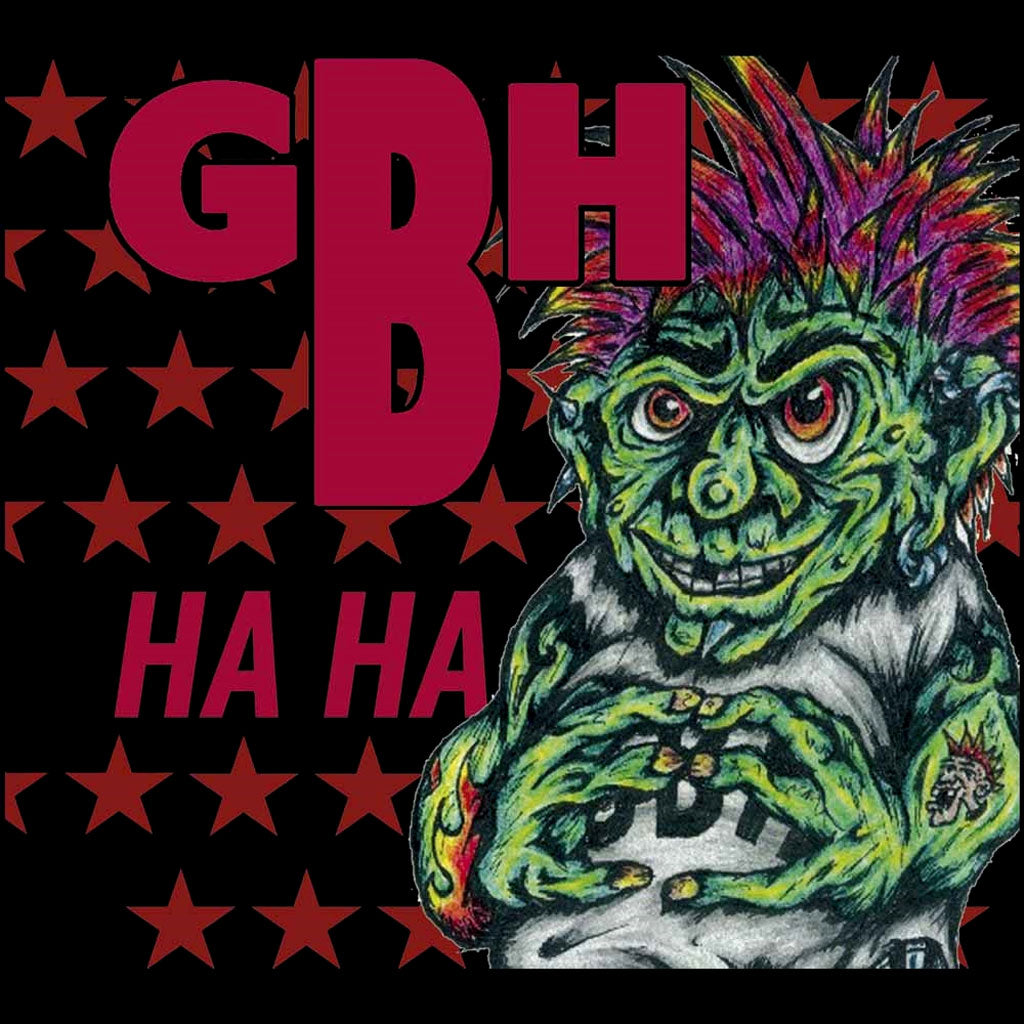 Charged GBH - Ha Ha (2016 Reissue) (Digipak CD)