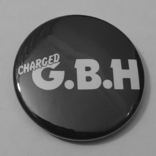 Charged GBH - White Logo (Badge)