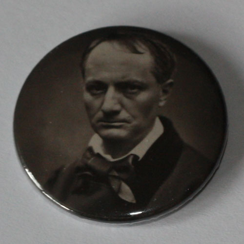 Charles Baudelaire - 1862 Portrait (Badge)