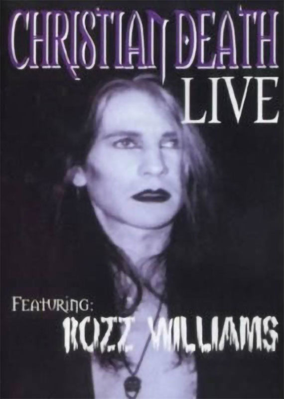 Christian Death - Live (DVD)