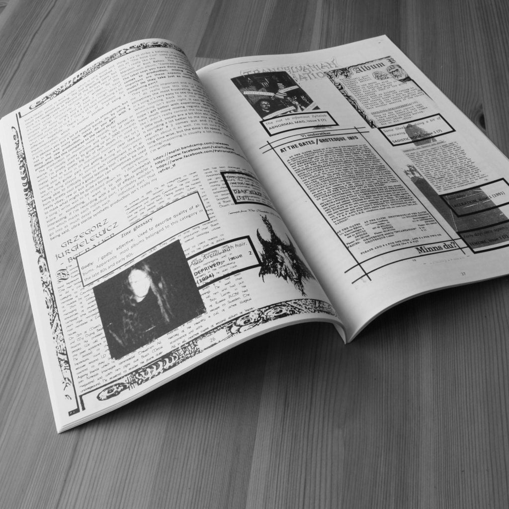 Chronicles - Issue 1 (Zine)