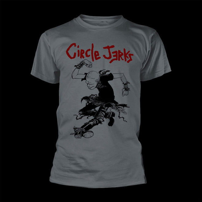 Circle Jerks - Skanker (Grey) (T-Shirt)