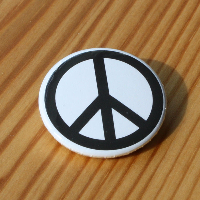 CND / Peace Sign (Black) (Badge)