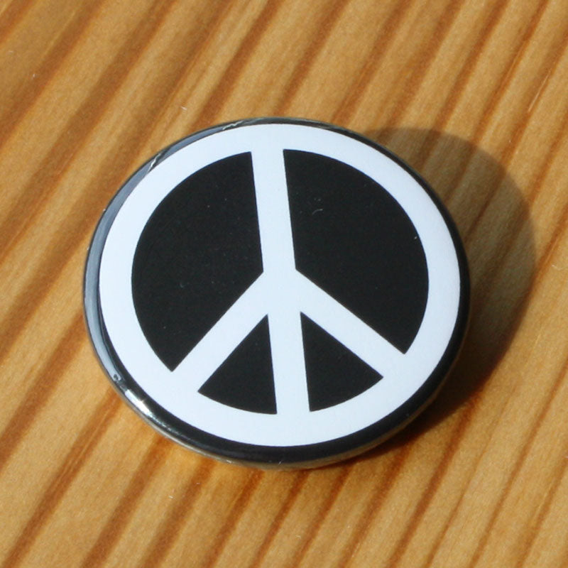 CND / Peace Sign (White) (Badge)