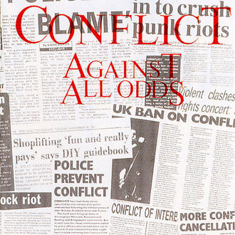 Conflict - Against All Odds (CD)