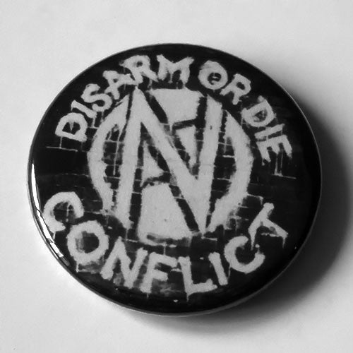 Conflict - Disarm or Die (Badge)