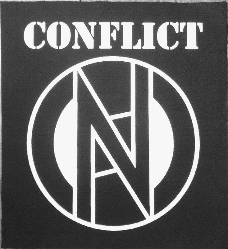 Conflict - Logo (Backpatch)