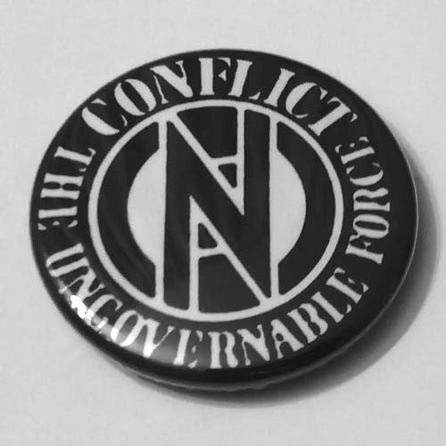 Conflict - Logo / The Ungovernable Force (Badge)