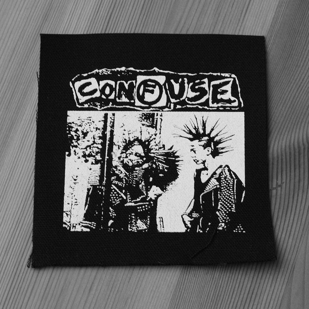 Confuse - Logo / Nuclear Addicts (Printed Patch)