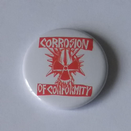 Corrosion of Conformity - Red Logo (Badge)