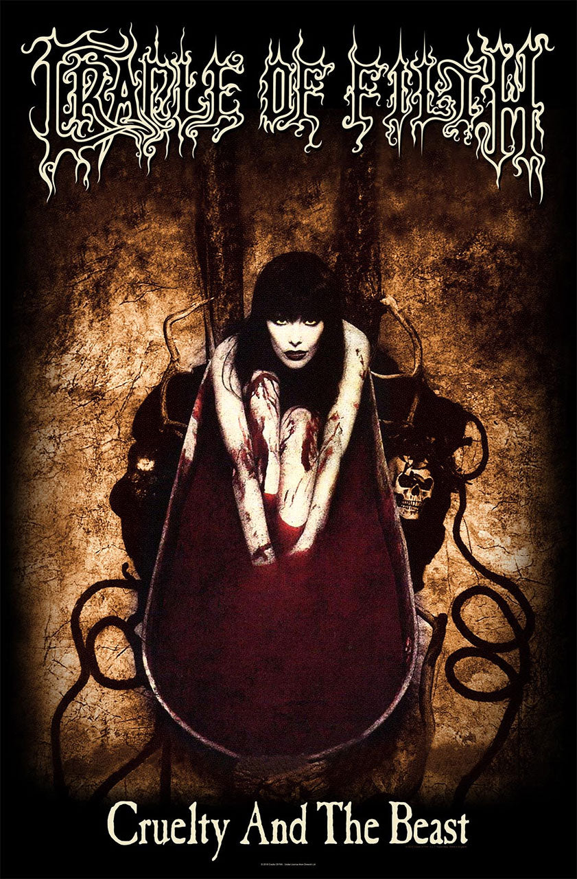 Cradle of Filth - Cruelty and the Beast (Textile Poster)