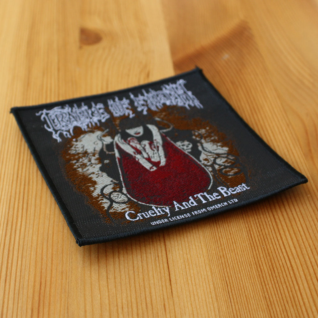 Cradle of Filth - Cruelty and the Beast (Woven Patch)