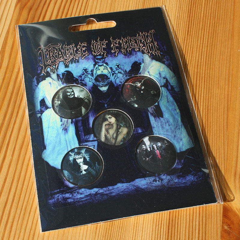 Cradle of Filth - Cryptoriana (Badge Pack)