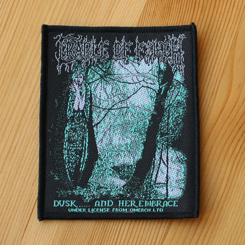 Cradle of Filth - Dusk and Her Embrace (Woven Patch)