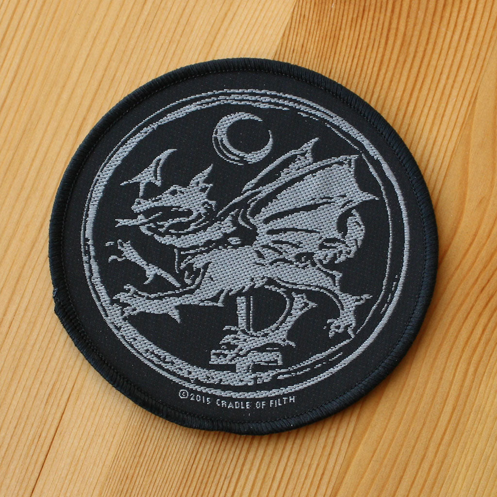 Cradle of Filth - Order of the Dragon (Woven Patch)