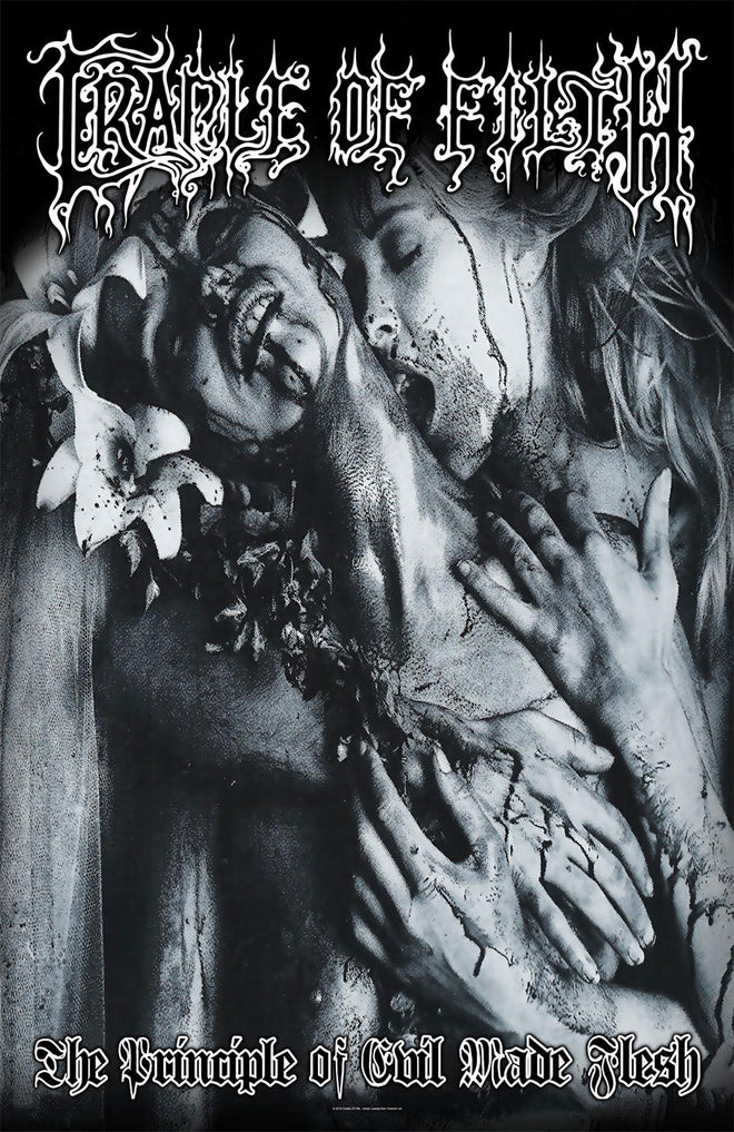 Cradle of Filth - The Principle of Evil Made Flesh (Textile Poster)