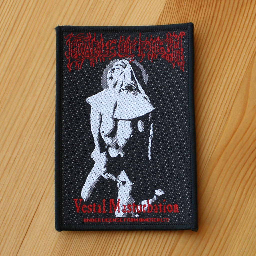 Cradle of Filth - Vestal Masturbation (Woven Patch)