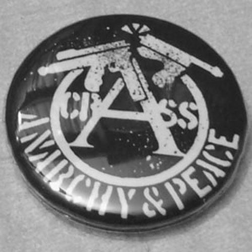 Crass - Anarchy and Peace (Badge)
