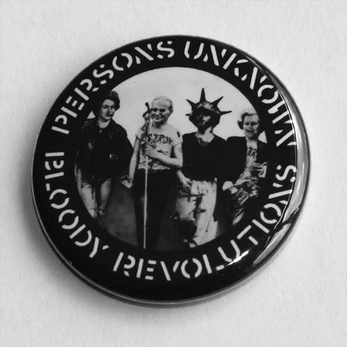 Crass / Poison Girls - Bloody Revolutions / Persons Unknown (Badge)