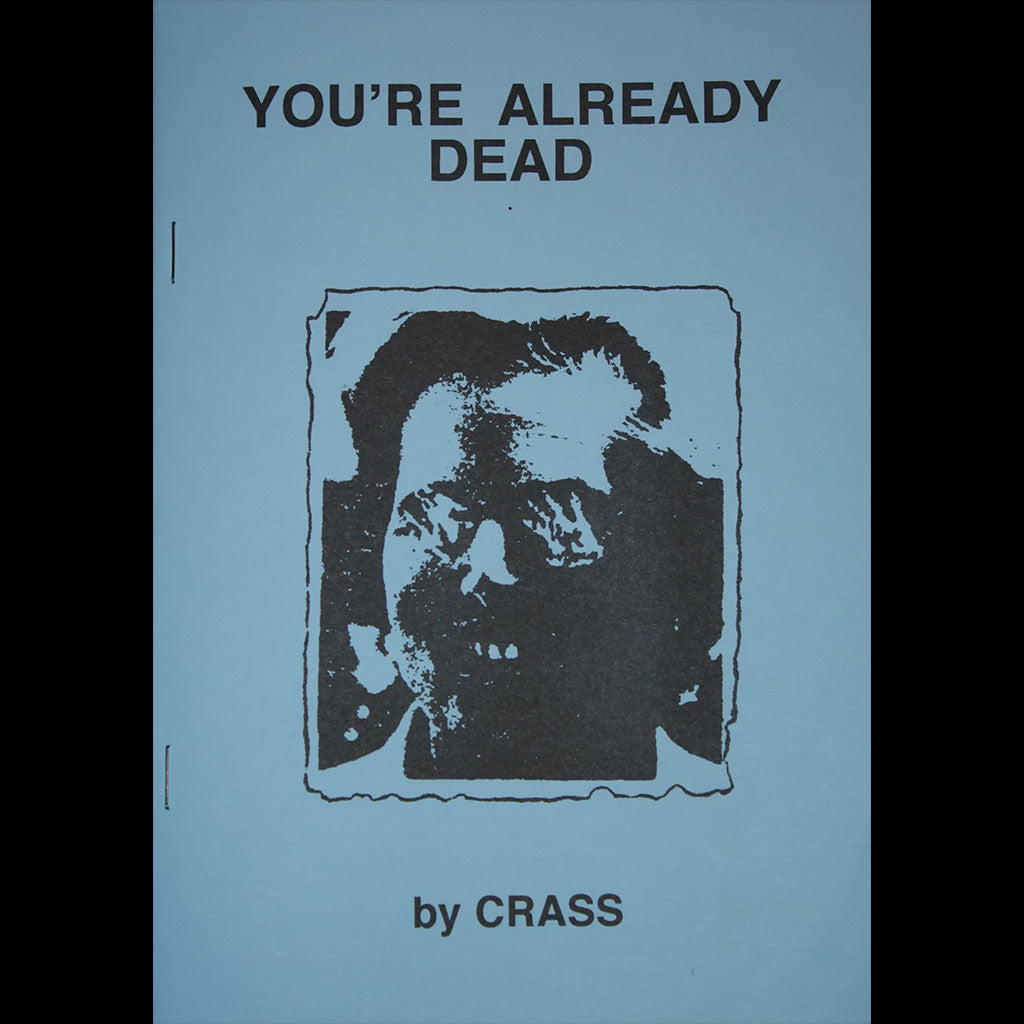 Crass - You're Already Dead (Pamphlet)