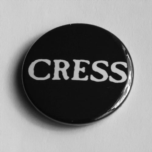 Cress - White Logo (Badge)