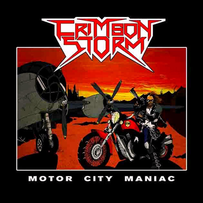Crimson Storm - Motor City Maniac (CD)