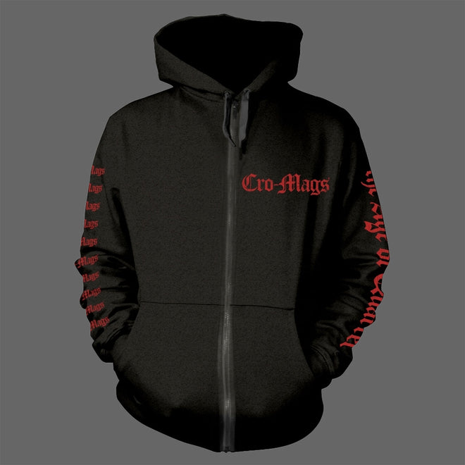 Cro-Mags - The Age of Quarrel (Full Zip Hoodie)