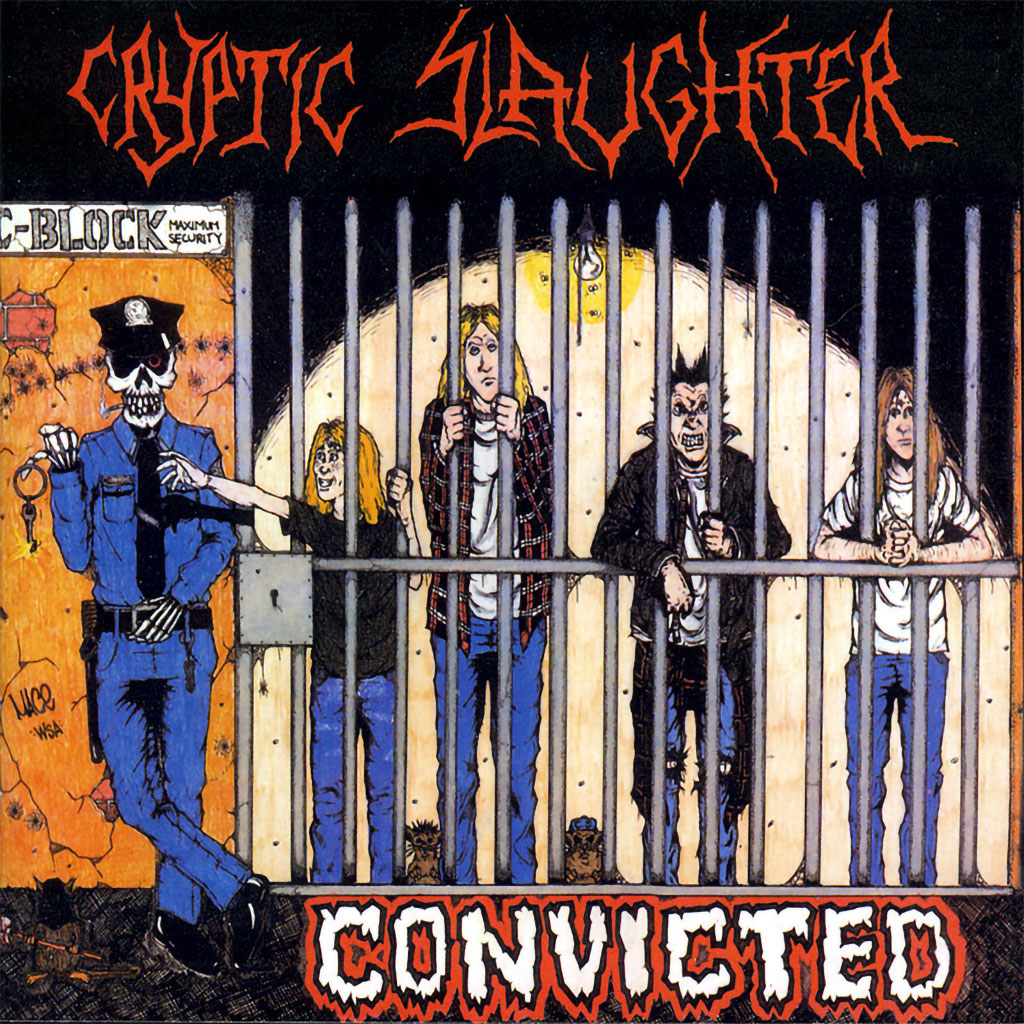 Cryptic Slaughter - Convicted (2003 Reissue) (CD)